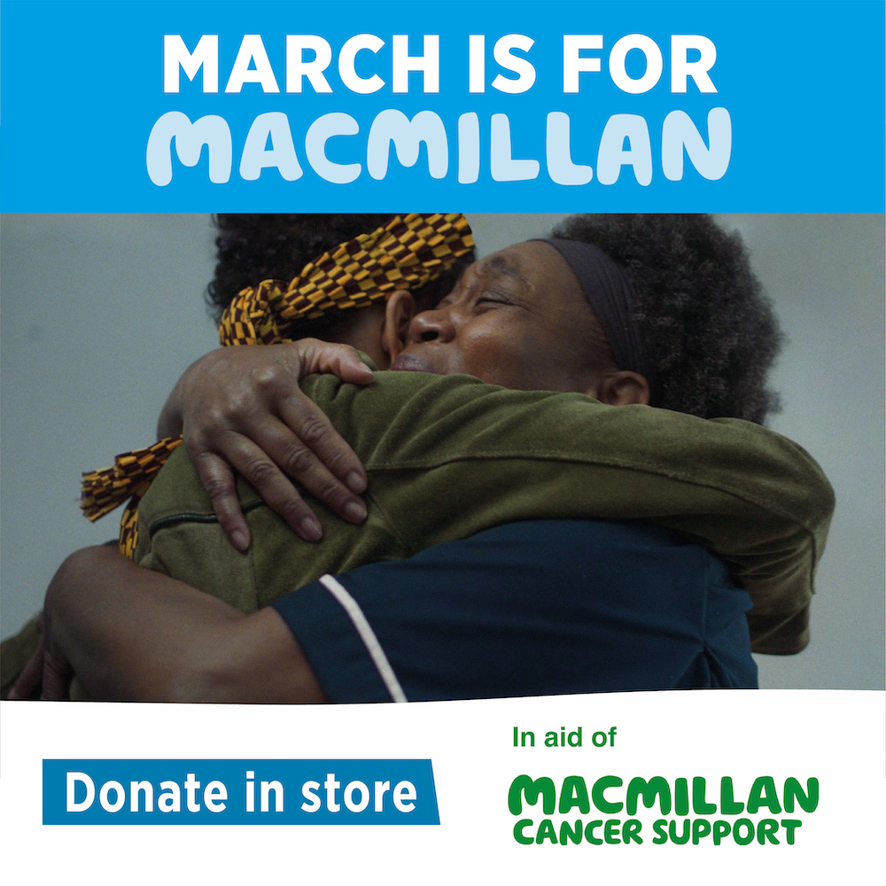 MARCH IS FOR MACMILLAN
