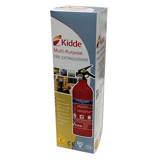 Kidde Fire Extinguisher Dry Powder All Purpose 1kg