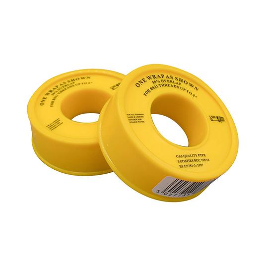 PTFE Single Wrap Gas Tape 12mm x 5m Roll
