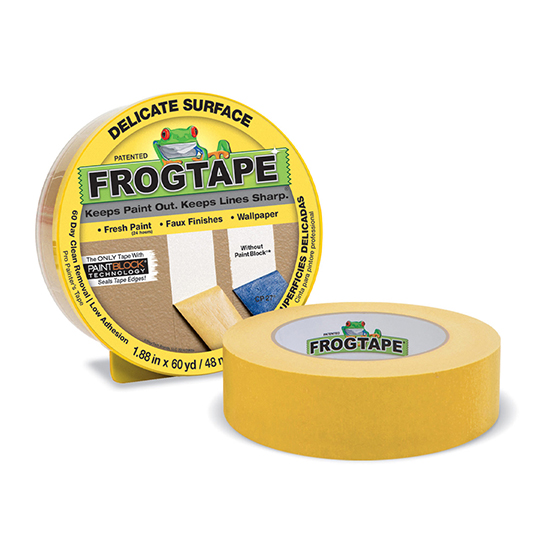 Frogtape Low Tack Masking Tape Yellow 36mm x 41m Roll