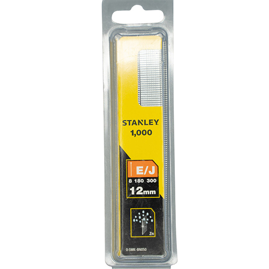 Stanley Brad Nail 12mm Pack of 1000