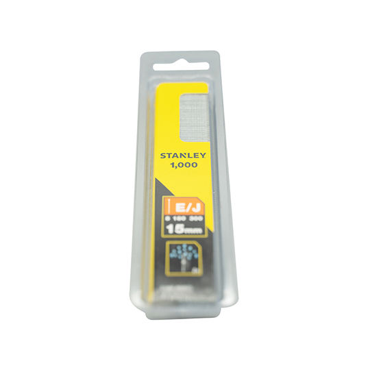 Stanley Brad Nail 15mm Pack of 1000
