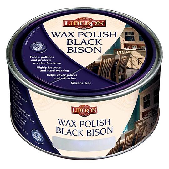 Liberon Wax Polish Black Bison Tudor Oak 500ml