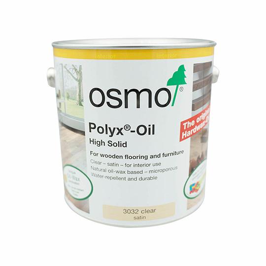 Osmo Polyx Oil Satin Clear 2.5L
