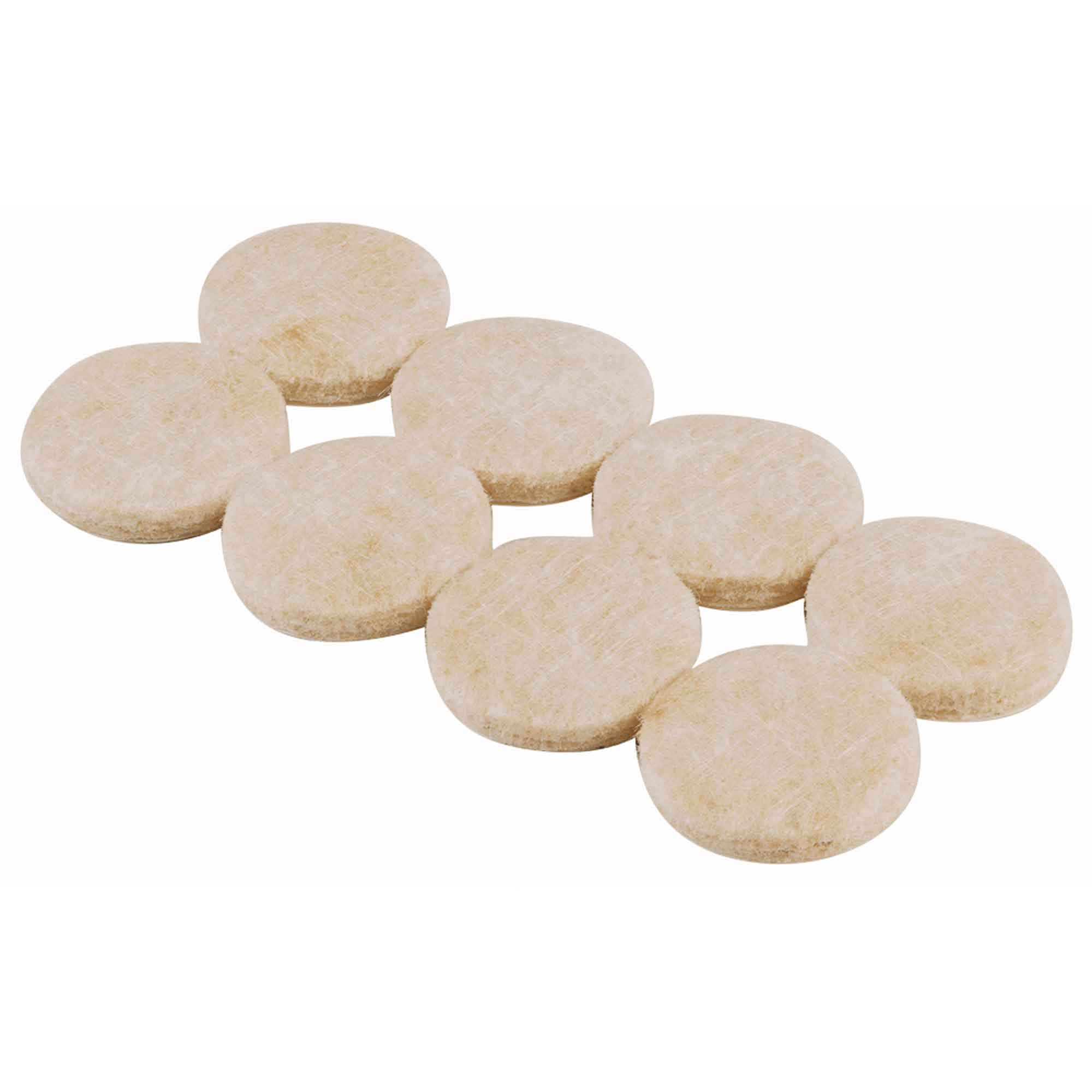 Select Heavy Duty Felt Pads Round 25mm Pack of 16