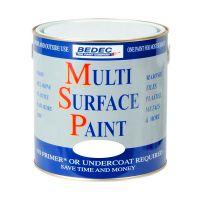 Bedec MSP Multi Surface Paint Gloss White 2.5L