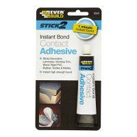 Everbuild Stick2 Instant Bond Contact Adhesive 30ml