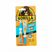 Gorilla Super Glue Twin Pack 3g