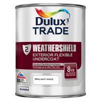 DULUX Trade Weathershield Ext Undercoat 1L B/White