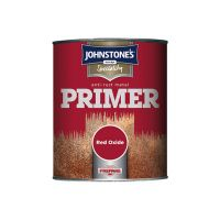 Johnstones Speciality Metal Primer Anti Rust Paint Red Oxide 750ml
