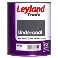 LEYLAND Oil Undercoat 750ml White