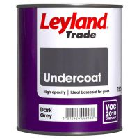 LEYLAND Oil Undercoat 750ml Dark Grey