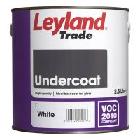 Leyland Trade Undercoat Paint White 2.5L
