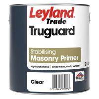 Leyland Trade Truguard Stabilising Masonry Primer Clear 2.5L