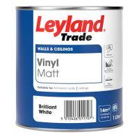 LEYLAND Vinyl Matt 1L B/White