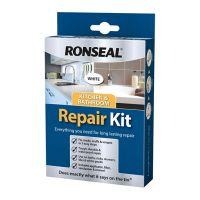 Ronseal Kitchen & Bathroom Repair Kit White 60g