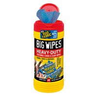 BIG WIPES Multi Purpose Cleaning Ind, Plus Dual w/Red Cap Tub