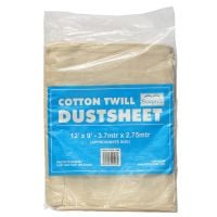 Seagull Cotton Twill Dustsheet 12ft x 9ft