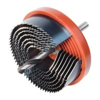 WOLFCRAFT Holesaw Set With Pilot Drill 7Pcs 18mm