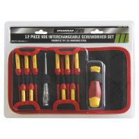 Spearhead VDE Interchangable Screwdriver Set 12 Pieces