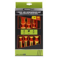 Spearhead VDE Insulated Screwdriver Set 7 Pieces