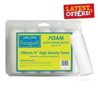 Seagull Rad Foam Roller Sleeve 4in Pack