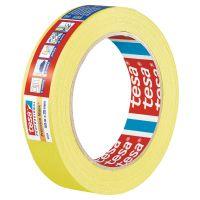 Tesa Precision Masking Tape Yellow 38mm x 50m Roll