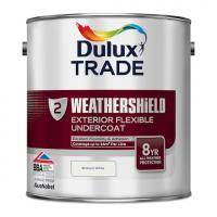 Dulux Trade Weathershield Exterior Undercoat Pure Brilliant White 2.5L