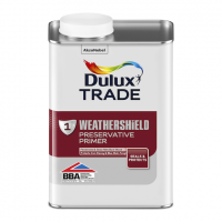 Dulux Trade Weathershield Water Based Preservative Primer 1L