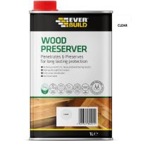 Everbuild Lumberjack Wood Preserver Clear 1L