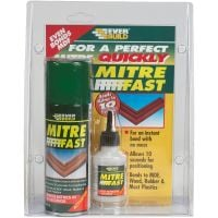 Everbuild Mitre Fast Bonding Kit 2 Part 200ml & 50g