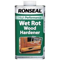 Ronseal Wet Rot Wood Hardener Clear 250ml