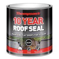 Thompsons 10 Year Waterproofing Roof Seal Black 2.5L