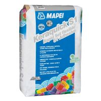 Mapei Tile Adhesive KERAQUICK Rapid Set S1 20kg Grey