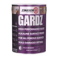 Zinsser Gardz High Performance Sealer Paint Clear 5L