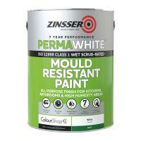Zinsser Perma White Mould Resistant Paint Matt 1L