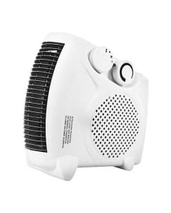Dual Fan Heater Flat & Upright Two Heat Settings 2000W