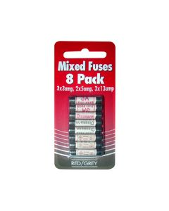 Fuse Plug Top Fuses Mixed Pack of 8