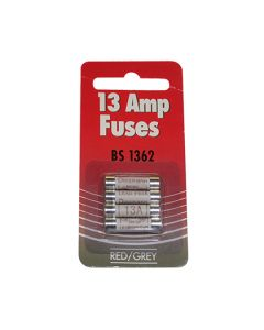 Fuse Plug Top Fuses 13A Pack of 4