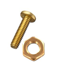 Electrics - Screws Brass For Conduit M4x10mm