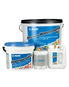 MAPEI Shower W/proofing Kit - Primer,Mapegum,Mapeband Tape