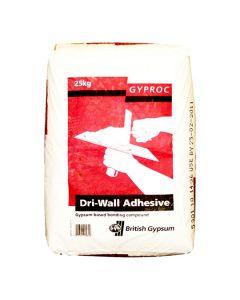 GYPROC DRI-WALL Plasterboard Dry Wall Adhesive 25kg