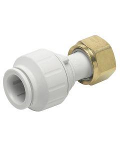 Speedfit Tap Connector White 15mm
