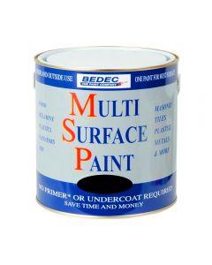 Bedec MSP Multi Surface Paint Gloss 2.5L Black