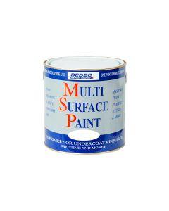 Bedec MSP Multi Surface Paint Gloss White 250ml