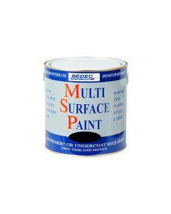 Bedec MSP Multi Surface Paint Gloss Black 250ml