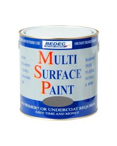 Bedec MSP Multi Surface Paint Satin 2.5L Silver