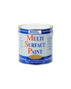 Bedec MSP Multi Surface Paint Gold 250ml