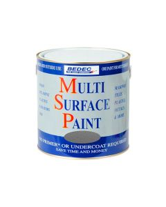 MSP Multi Surface Paint Satin 750ml Silver