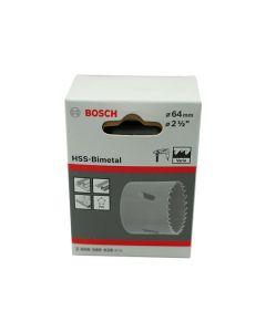 Bosch HSS Bimetal Holesaw 64mm